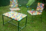 Кресла из пластиковых крышек