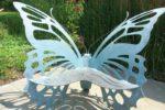 Скамья-бабочка