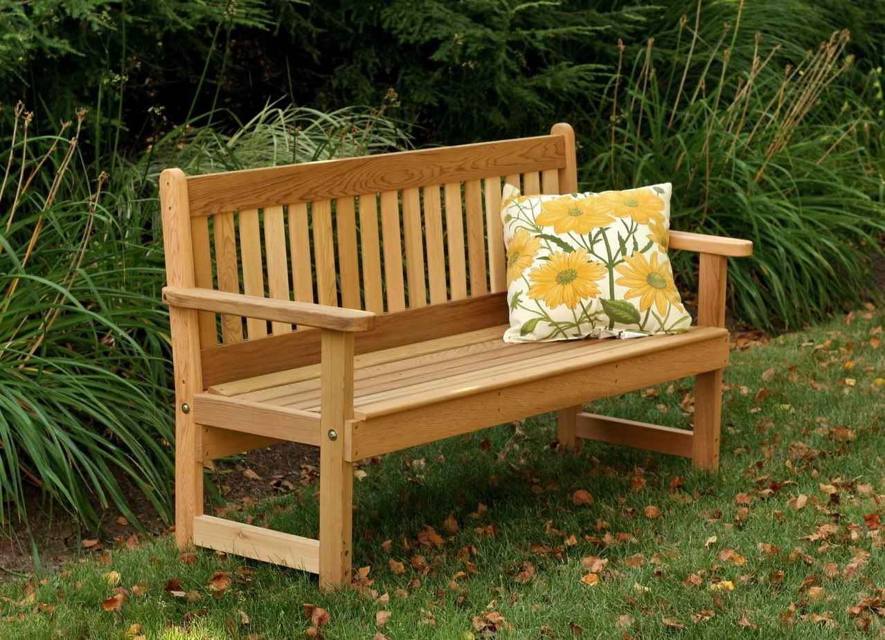скамейки со спинкой из дерева фото давно уже
