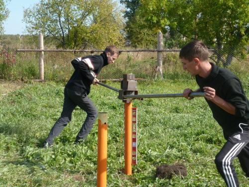 Как сделать ямы под сваи