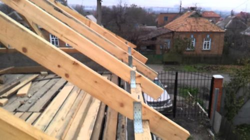 Стропила на крыше