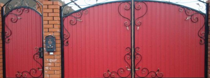 Железные двери в гараж своими руками железный мариупольский гараж