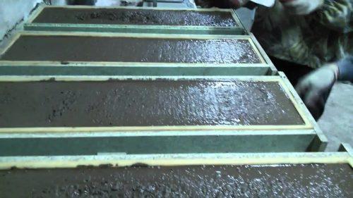 Формы для заливки бетонных панелей