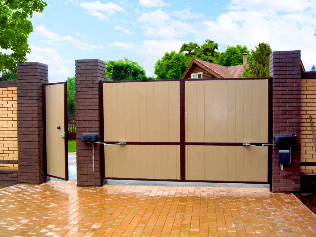 Ворота с дистанционным управлением своими руками