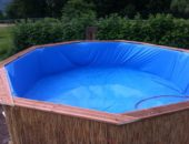 бассейн из подручных материалов