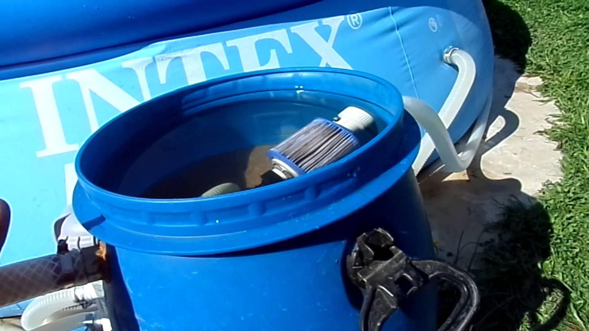 Фильтрующий элемент для бассейна своими руками6