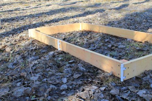 Короб для теплицы из доски 20x200 мм