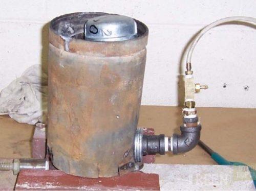Подача воды из резервуара