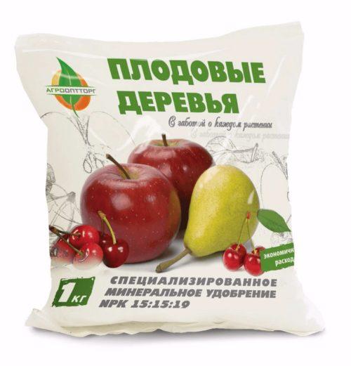Минеральное удобрение для плодовых деревьев