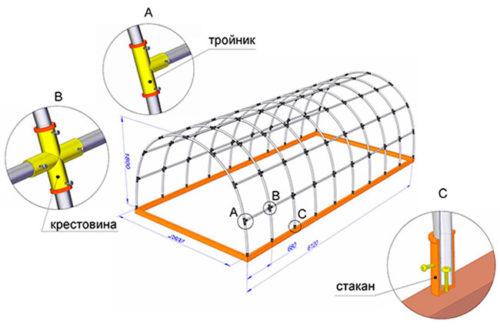 Система креплений труб