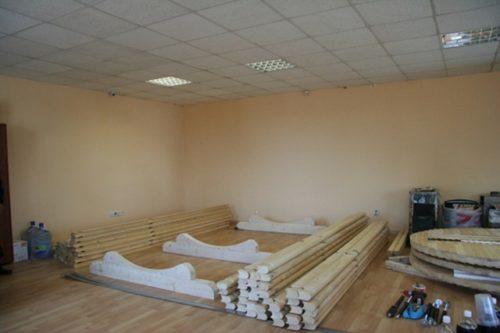 Строительство бани-бочки