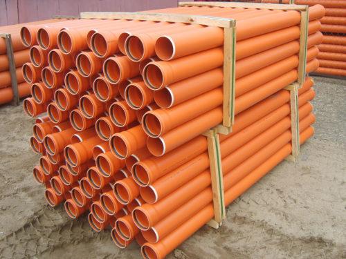 Трубы из поливинилхлорида для канализации