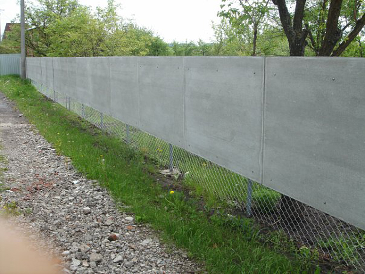 Забор своими руками из шифера фото 152