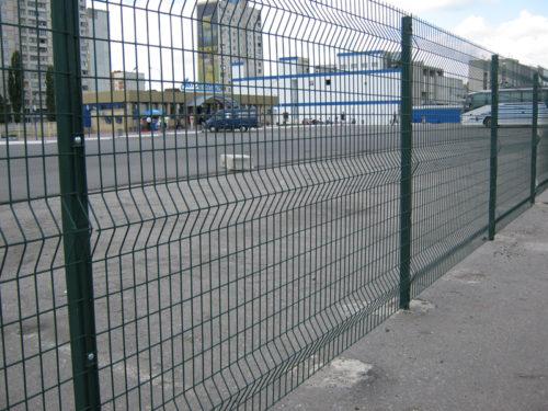 Забор из сварной решётки