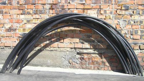 Заготовки под арки теплицы из полиэтиленовых труб