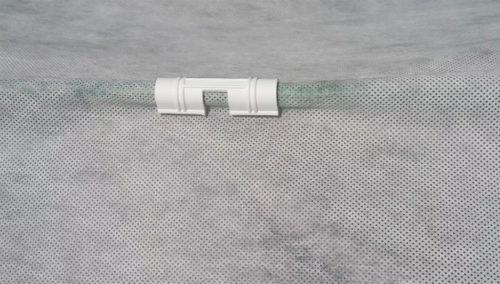 Зажим для фиксации плёнки на теплице