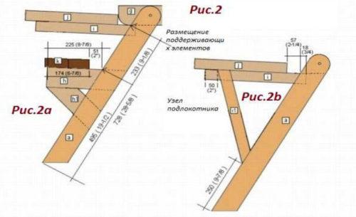 Как сделать лавку-стол трансформер 29