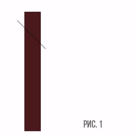 Схема распиливания черенка