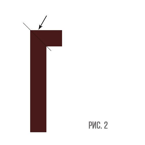 Схема соединения двух частей черенка