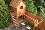 Детская площадка с домиком