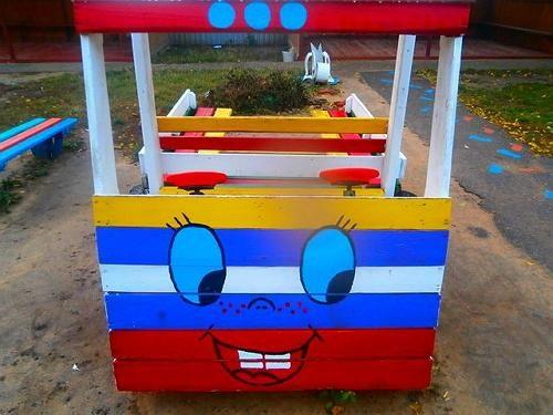 Грузовик для детской площадки