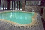 Каркасный бассейн в помещениии