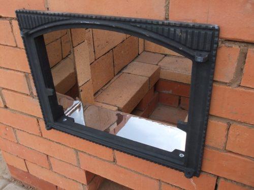 Дверца казанного отделения