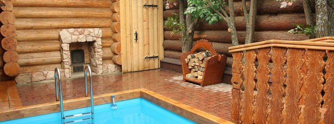 Как сделать стационарный бассейн в бане своими руками 367