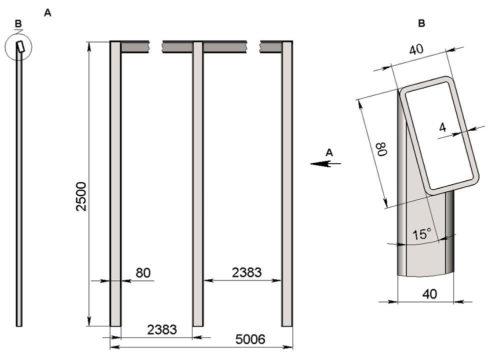 Изготовление блоков металлического каркаса