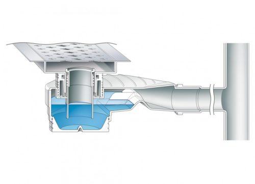 Схема канализации бассейна