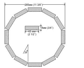 Схема обливной купели