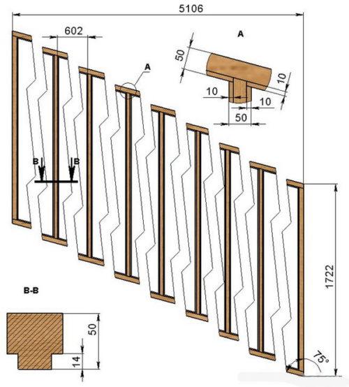 Схема сборки боковых рам