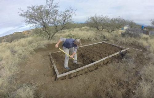 Снятие плодородной почвы