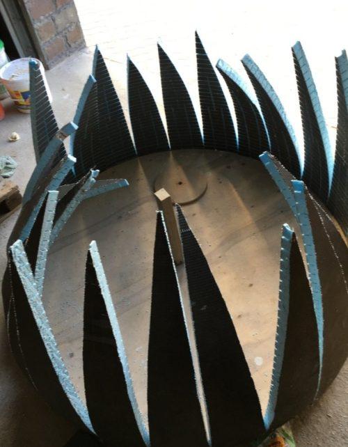 Сооружение купола из гипсокартона
