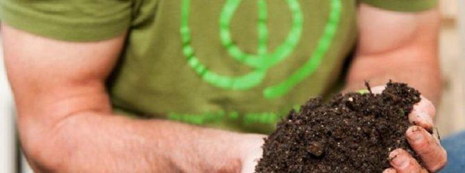 К созреванию компоста человек не без успеха прикладывает руки