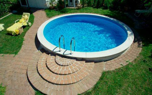 Готовый вариант бассейна