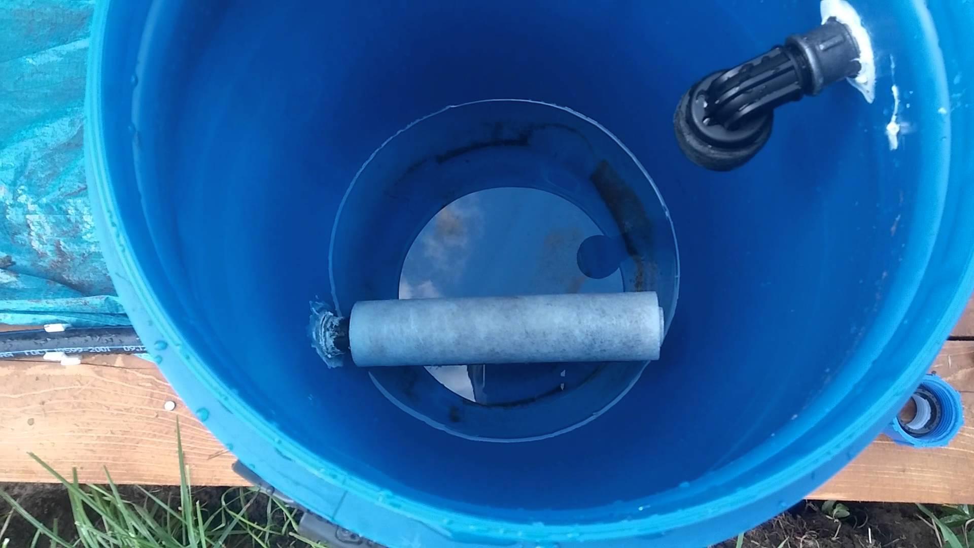 как очистить воду в бассейне своими руками фильтры хлорирование и