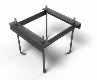 Укрепляющий каркас для бетонного фундамента