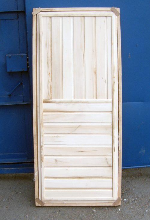 Банная дверь в сборе