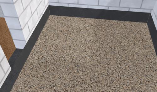 Керамзит на полу