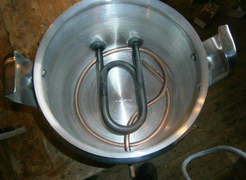 Подвод воды в парогенератор