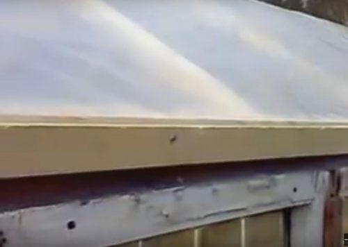 Крыша теплицы