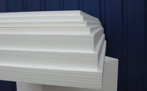 Пенопласт в плитах различной толщины