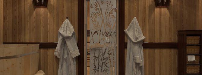 Дверь в баню
