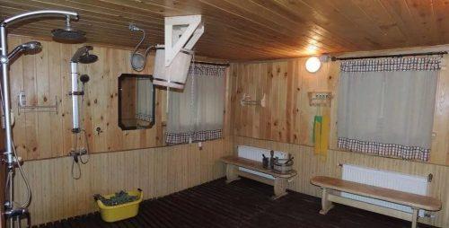 Моечная в русской бане