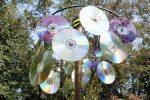 Отпугиватель птиц из старых дисков