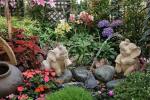 фонтан и скульптуры