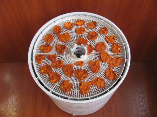 сушка абрикосов в дегидраторе