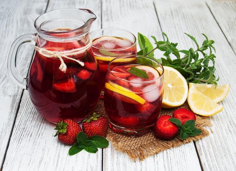 Полезные напитки из варенья